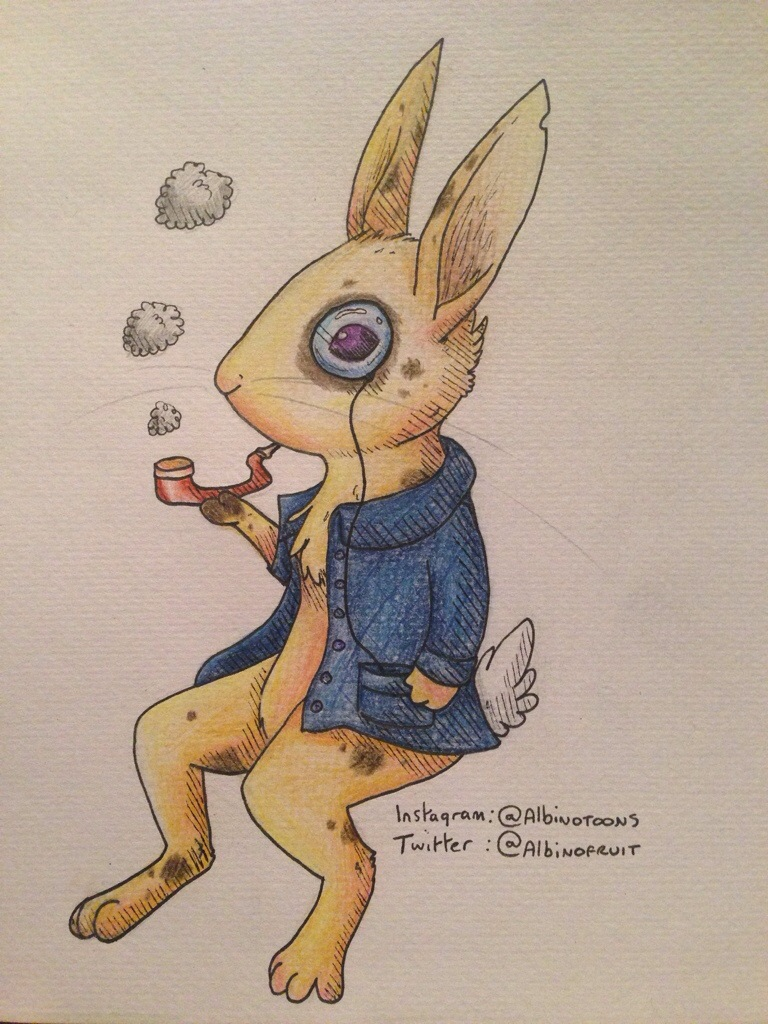monocle bunny