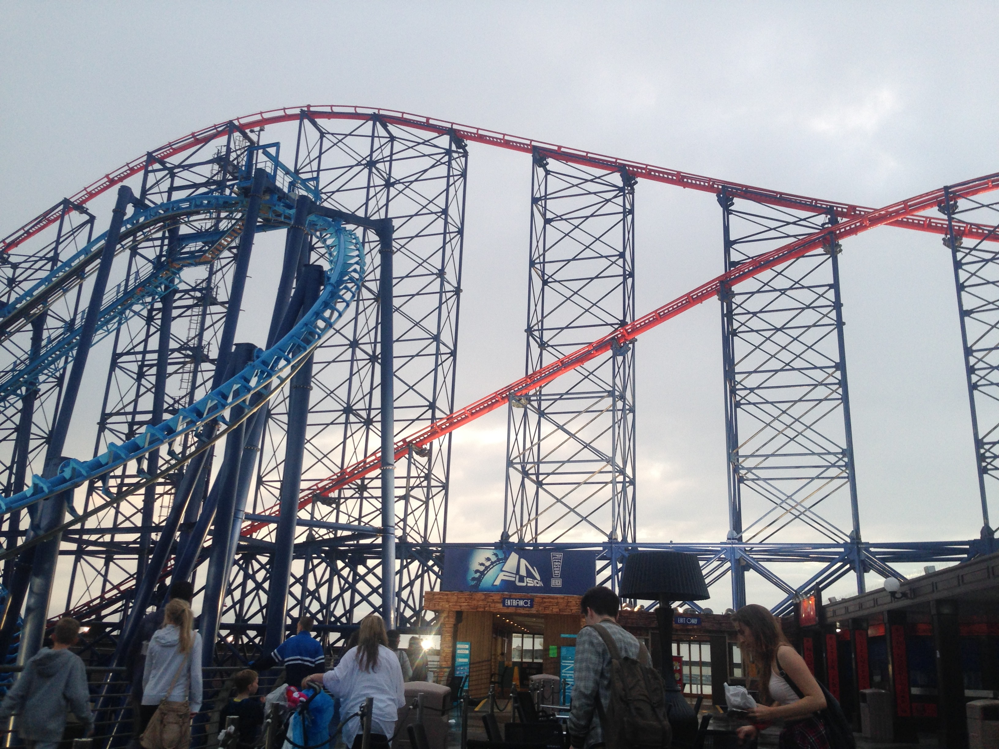 Blackpool Pleasure Beach 2014